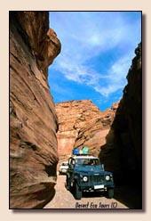 Jeepsafari Jordanie